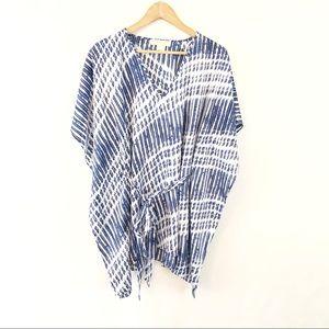 Michael Michael Kors Belted Kimono Tunic Top